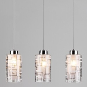 Подвесной светильник Eurosvet 50002/3 хром
