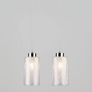 Подвесной светильник Eurosvet 50001/2 хром