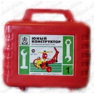 Конструктор Огонек Юный в чемоданчике (С-296)