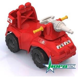 Машина-каталка Нордпласт Пожарная машина (431014)