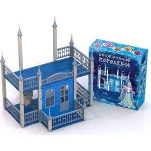 Домик для кукол Нордпласт Замок Снежная Королева (593)