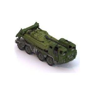 Машинка Нордпласт Военный тягач (258)