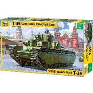 Модель для склеивания Звезда Советский тяжелый танк (3667)