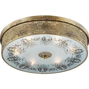 Потолочный светильник Odeon 2782/6C светильник настенно потолочный odeon light 2677 6c odl14 427 g9 6 40w 220v palmira золото белый