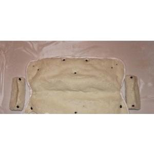 Муфта для рук Сдобина на коляску (96 белый)