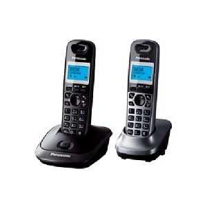 Радиотелефон Panasonic KX-TG2512RU2 panasonic kx tg2512ru2 темно серый