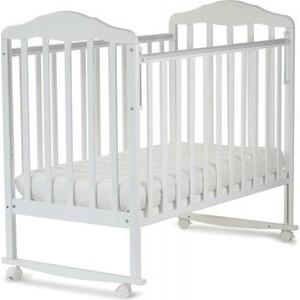 Кровать детская СКВ Компани Березка белый (120111)