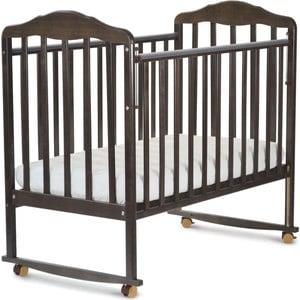 Кроватка СКВ Компани Березка венге 120118 детские комоды скв компани 70026 жираф