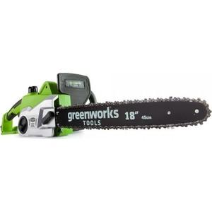 Электропила GreenWorks GCS2046