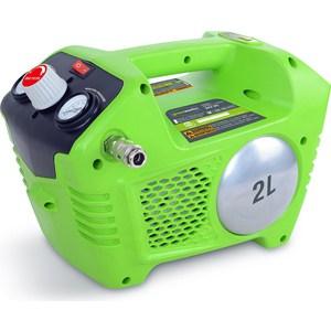 Компрессор аккумуляторный GreenWorks G24WL / G24AC (4100302)