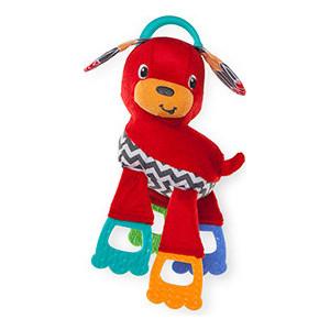 Развивающая игрушка Bright Starts Щенок (52023) прорезыватели bright starts игрушка самый мягкий друг с прорезывателями