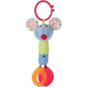 Игрушка мягкая Chicco для коляски Мышонок (07654) мягкая игрушка chicco 92408