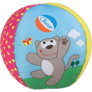 Игрушка мягкая Chicco Мягкий мячик (5835)