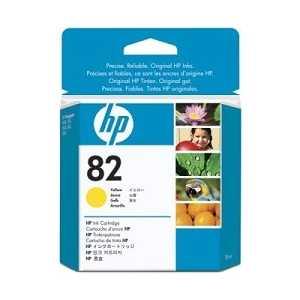 Картридж HP N82 жёлтый (CH568A)