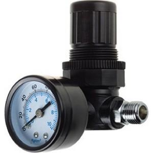 Регулятор давления Kraftool 1/4 с манометром Industrie (06503)