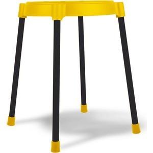 Табурет Sheffilton SHT-S36 желтый/черный (4 штуки) цена и фото