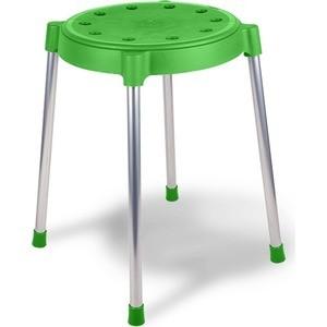 Табурет Sheffilton SHT-S36 зеленый/хром (4 штуки)