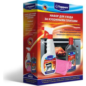 Аксессуар Topperr Набор для ухода за кухонными плитами (3415) недорго, оригинальная цена