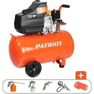 Компрессор PATRIOT Euro 50-260K воздушный компрессор patriot ptr 80 260а