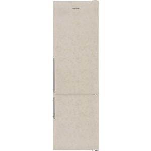 Холодильник VestFrost VF 3863 MB двухкамерный холодильник vestfrost vf 3863 x