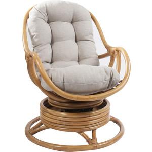 Кресло-качалка Мебель Импэкс Kara МИ с подушкой мед