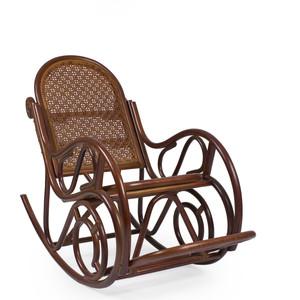 Кресло-качалка Мебель Импэкс MOSCOW МИ с подушкой (цвет Коньяк )