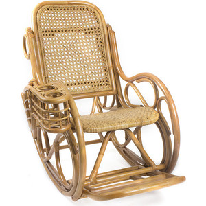 Кресло-качалка Мебель Импэкс Novo Lux Corall мёд