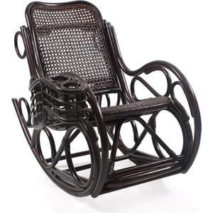 Кресло-качалка Мебель Импэкс CORAL МИ без подушки (цвет орех) зеркало мебель импэкс ми джульетта орех