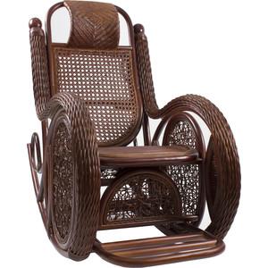Кресло-качалка Мебель Импэкс Twist Alexa с подушкой коньяк кресло качалка мебель импэкс bella мёд с подушкой