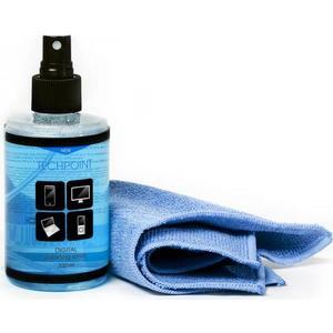 Чистящие средство Techpoint 7777 комплект для очистки фото/видеотехники, салфетка и гель