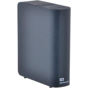 Внешний жесткий диск Western Digital Elements Desktop 2Tb (WDBWLG0020HBK-EESN)