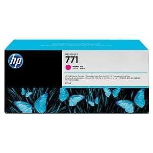 Картридж HP N771 пурпурный (CE039A) картридж струйный hp 771c b6y32a хроматический красный для designjet z6200 printer series 775 мл 3 шт в упаковке
