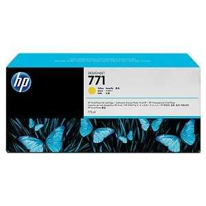 Картридж HP N771 желтый (B6Y10A) картридж струйный hp 771c b6y32a хроматический красный для designjet z6200 printer series 775 мл 3 шт в упаковке