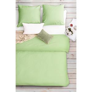 Комплект постельного белья Сова и Жаворонок 2-х сп, бязь Premium, гладкокрашеная, Тропическая орхидея цена и фото