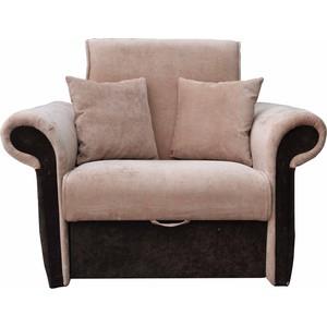 купить Кресло-кровать Mebel Ars Лотос - Люкс ППУ микровельвет по цене 11399.5 рублей