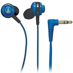 Наушники Audio-Technica ATH-COR150 blue внутриканальные наушники audio technica ath sport1 blue
