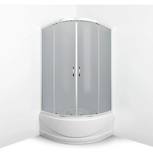 Душевой уголок Erlit Comfort 80x80 профиль хром, стекло тонированное (ER0508T-C4)