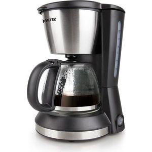 Кофеварка Vitek VT-1506 BK кухонный комбайн vitek vt 1437 bk черный