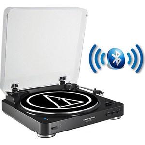 Виниловый проигрыватель Audio-Technica AT-LP60BT BK виниловый проигрыватель audio technica at lp3