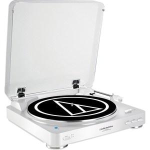 Виниловый проигрыватель Audio-Technica AT-LP60BT WH виниловый проигрыватель audio technica at lp3