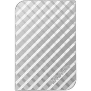 Внешний жесткий диск Verbatim 1Tb StorenGo silver (53197)