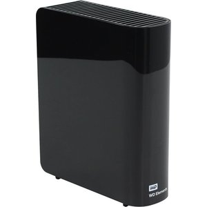 Внешний жесткий диск Western Digital 4Tb Elements Desktop black (WDBWLG0040HBK-EESN)