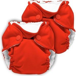Многоразовый подгузник Kanga Care для новорожденных Lil Joey 2 шт. Crimson (628586258600)