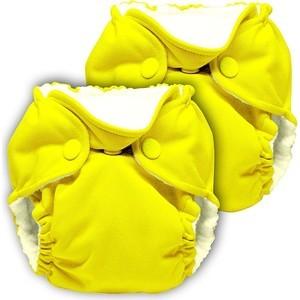 Многоразовый подгузник Kanga Care для новорожденных Lil Joey 2 шт. Sunshine (628586258624) для новорожденных товары оптом