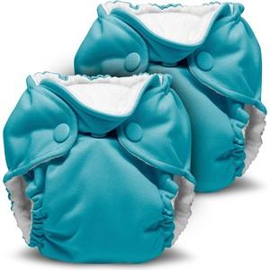 Многоразовый подгузник Kanga Care для новорожденных Lil Joey 2 шт. Aquarius (784672405584) для новорожденных товары оптом