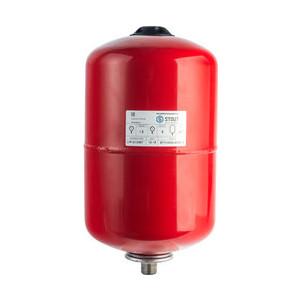 Расширительный бак STOUT для систем отопления со сменной мембраной (красный) (STH-0004-000012)