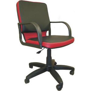Кресло Союз мебель Элит ТГ экокожа черно-красная кресло союз мебель орман тг пластик экокожа виски