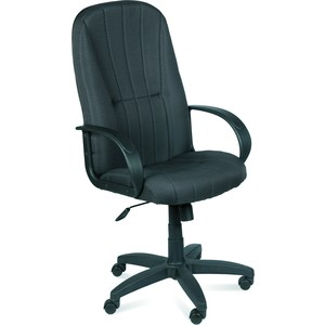 Кресло Союз мебель Стафф ТГ эрго экокожа черная