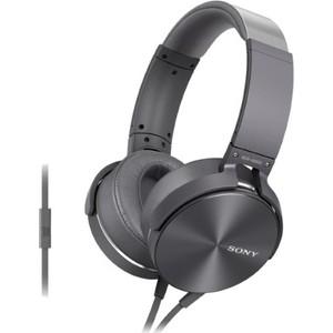 Наушники Sony MDR-XB950AP grey наушники sony mdr xb950ap black