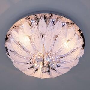 Потолочный светильник Eurosvet 80013/8 хром/белый